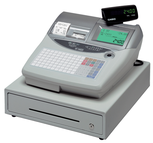 Casio TE-2400 Electronic Cash Register