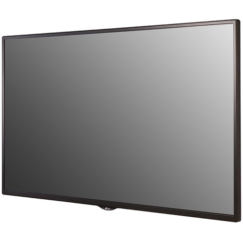 LG 32SE3LKDB 32 inch Commercial Display angle bezel view