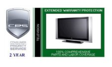 Consumer Priority Service 2 Year TV/Monitor In-Home (up to $1500)