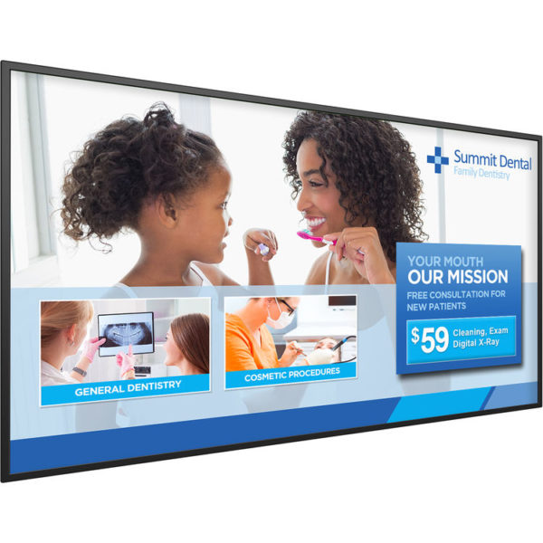 """Planar Systems SL6551 65""""-Class Full HD Commercial LED Display"""