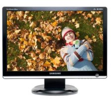 "Samsung SyncMaster 226BW Black 22"" - widescreen TFT active matrix LCD display