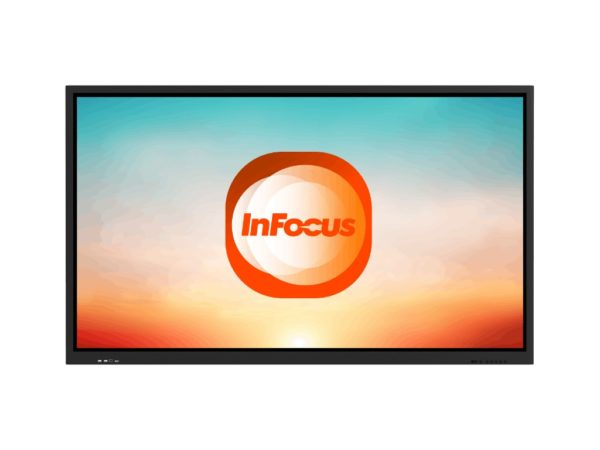 InFocus INF6500-I5-KIT - 65 inch 4K Interactive Touch Display with Slot PC front