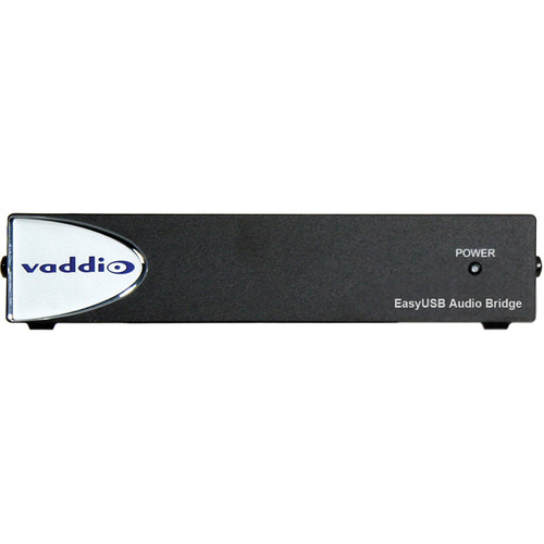 Vaddio EasyUSB AudioBRIDGE Analog Audio to USB Converter 999-8536-000