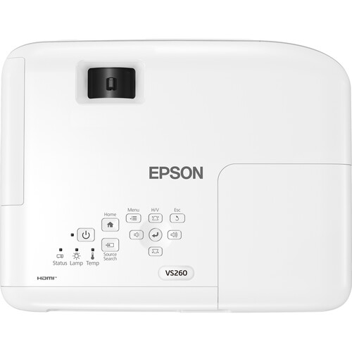 Epson VS260 XGA 3LCD Conference Room Projector top center
