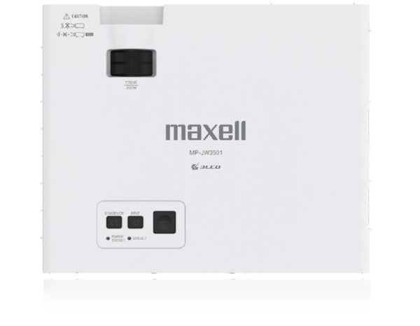 Maxell MP-JW3501 WXGA Conference Room Projector top center