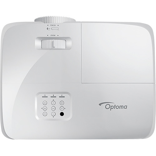 Optoma W412 WXGA DLP Conference Room Projector top center