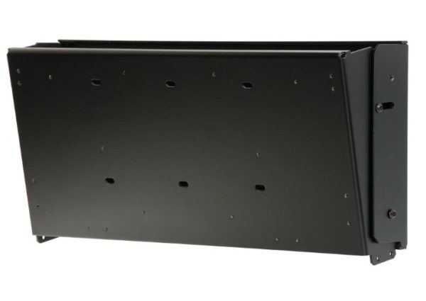 Peerless-AV LT-320 Enclosed Flat_Tilt Wall Mount for 26in to 32in Displays with VESA 100 x 100 and 200 x 100mm Mounting Hole Patterns