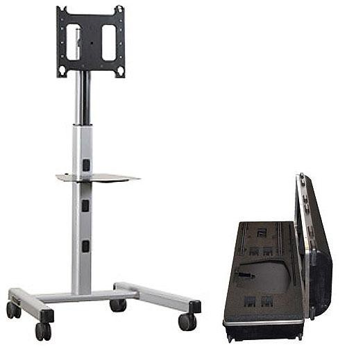 Chief PFCUS700 Mobile Flat Panel Cart and Case Kit (Silver)